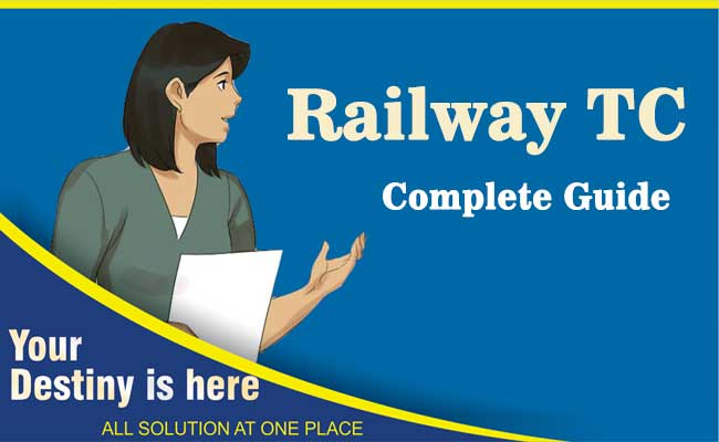 Railway RRB TC preparation Tips & Tricks