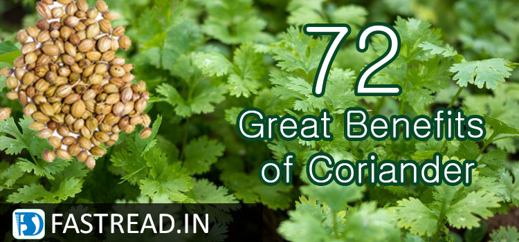 72 Great Benefits of Coriander and its Divine Medicinal Experiments